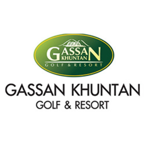 Gassan Khuntan Golf and Resort Logo
