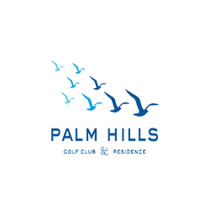 Palm Hills Golf Club and Residence Logo